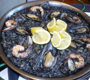 Alabardero's paella for purists